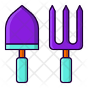 Scoop Fork Garden Icon