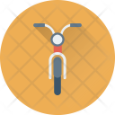 Scooter Motorcycle Motorbike Icon