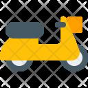 Scooter Vespa Icon
