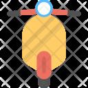 Vespa Scooter Vehicle Icon