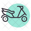 Scooter Vehicle Travel Icon