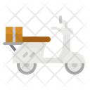 Scooter Vespa Motorcycle Icon