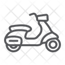 Scooter Transport Drive Icon