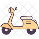 Bike Motorcycle Scooter Icon