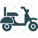 Motor Scooter Scooter Transport Icon