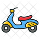 Motorcycle Scooter Bike Icon