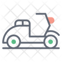 Scooter Sports Bike Transport Icon