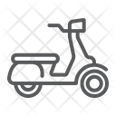 Scooter Vehicle Transport Icon