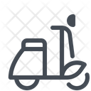 Scooter Courier Delivery Icon
