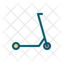 Scooter Transport Motorcycle Icon