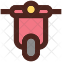 Scooter Vehicle Two Wheelar Icon