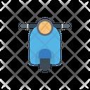 Scooter Vespa Bike Icon