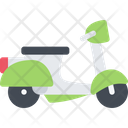 Scooter Motorcycle Bike Icon