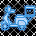 Scooter Transport Motobile Icon