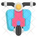 Scooter Motorcycle Transportation Icon