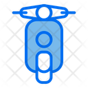 Scooter Vehicle Motorcycle Icon