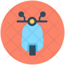 Scooter Vespa Transport Icon