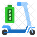 Scooter Battery Battery Technology Icon