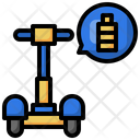 Scooter Battery Icon