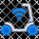 Scooter Bike Wireless Icon
