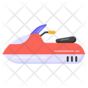 Scooter Boat Icon