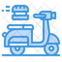 Scooter Order Delivery Icon