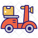 Scooter Delivery Icon