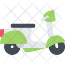 Scooter Delivery Shipping Icon