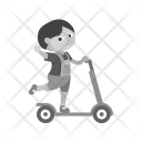 Scooter ride Icon