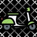 Scooter Vehicle Machine Icon