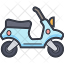 Scooty Vespa Scooter Icon