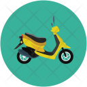 Scooty Motorbike Motorcycle Icon