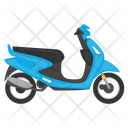 Scooter Scooty Vehicle Icon