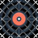 Scope Extent Range Icon