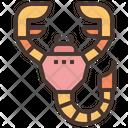 Scopion Scorpio Zodiac Icon