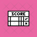 Score Scorecard Card Icon