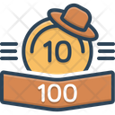 Points Score Rank Icon