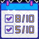 Score rating Icon