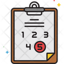 Score Rating Icon