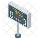 Digital Scoreboard Scoreboard Sports Score Icon