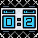 Scoreboard Scorecard Score Icon