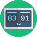 Scoreboard Game Score Sports Board Icon