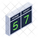 Bulletin Board Scoreboard Sports Scoreboard Icon