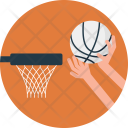 Scoring Basket Icon