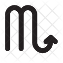 Scorpio Astrology Symbol Icon