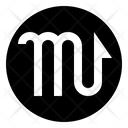 Scorpio Shapes Symbols Icon
