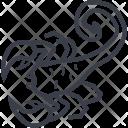 Scorpio Zodiac Astrology Icon