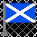 Flag Country Scotland Icon