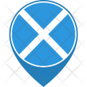 Scotland Flag World Icon