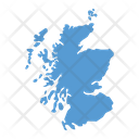 Scotland Map Country Icon